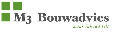 M3 Bouwadvies Logo